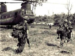 Vietnam Chinook loading
